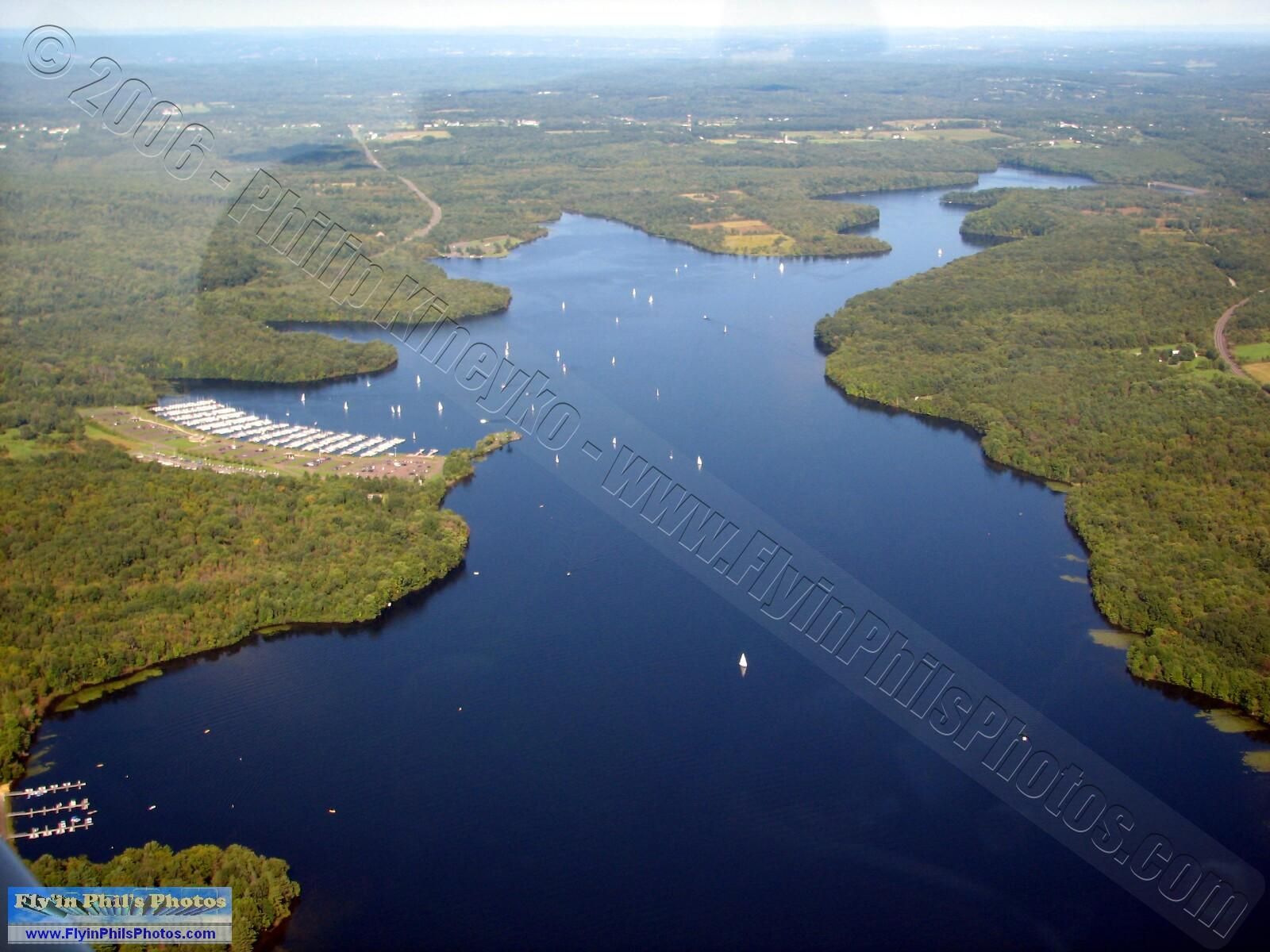 Fly'in Phil's Photos - Lakes, Reservoirs & Rivers Aerial